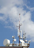 GSM antennas — Stock Photo