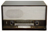 The old radio — Stock Photo