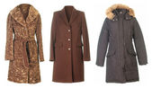 Fall coats — Stock Photo