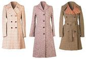 Autumn coats — Stock Photo