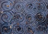 フィートの古代パターン行仏の状態 — ストック写真