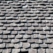 The Bark tiles of roof - Stock Photo