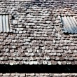 Bark tiles of roof — Stockfoto #10481255