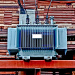 Stock Photo: Electric transformer