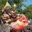 The Carving wood of ganesha — Foto Stock