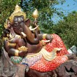 The Carving wood of ganesha — Stock Photo