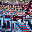 The Ancient painting of buddhist temple mural at Wat Phra sing, — Stock Photo