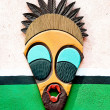 The Decorative African mask — Stock Photo #10496453