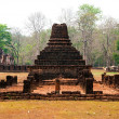 The Ancient stupa of Si Satchanalai historical park at sukhothai - Stock Photo