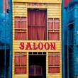 Stock Photo: Historic Saloon close-up