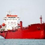 The Big boat of oil tanker — Stock Photo #10499571