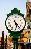 The Antique clock — Stock Photo