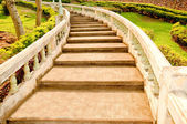 The Old staircase — Stock Photo