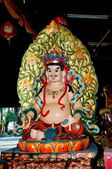 The God of chinese at joss house — Stock Photo