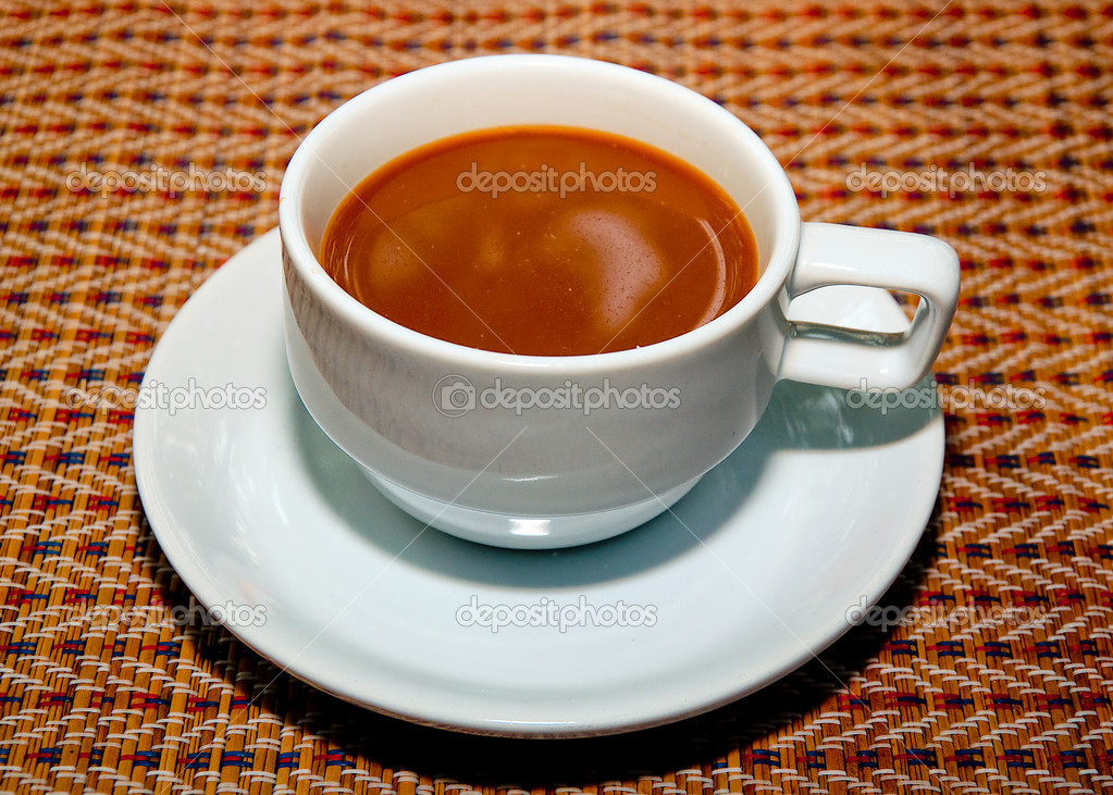A cup of coffee — Stock Photo #10500292