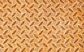 Le grunge rouillé sol en acier plaque texture d'arrière-plan — Photo