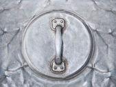 O alumínio de punho da tampa do frasco — Fotografia Stock