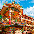The Beautiful of joss house at chonburi province,Thailand — 图库照片