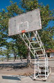 The Basketball court no hoop — Stock Photo