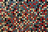 多彩陶瓷墙装饰 — 图库照片