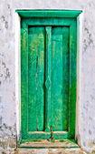 The Ancient door of thai style — Stock Photo
