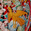 Royalty-Free Stock Photo: The Colorful of phoenix  of joss house