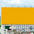 The Blank of board for advertise along the road — Stock fotografie