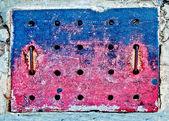 Drenażu w chodnik — Zdjęcie stockowe