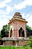 Uppförande av ny byggnad i templet — Stockfoto