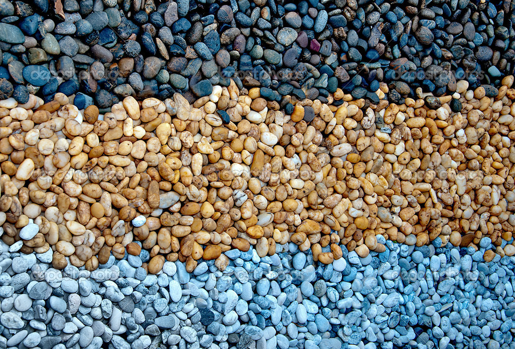 The Closeup of pebble — Stock Photo #10722440