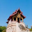 Stock Photo: Wat chedi luang temple in chiangmai province,Thailand