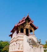 Wat chedi luang temple in chiangmai province,Thailand — Stock Photo