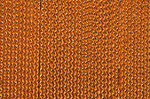 The Texture of brown corrugate cardboard background — Foto Stock