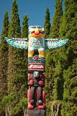 The Totem Pole — Stock Photo