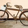 The Old bicycle - Stock Photo