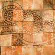 The Sculpture sandstone of pattern north thai style — Stock Photo