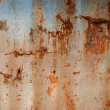Royalty-Free Stock Photo: The Rusty corrugated metal texture background