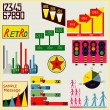 Royalty-Free Stock Vector Image: Retro Infographics