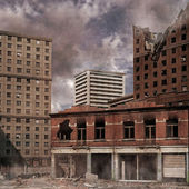 Urban Destruction — Stock Photo