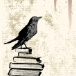 Raven Background — Stock Vector