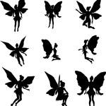 Постер, плакат: Fairy silhouettes