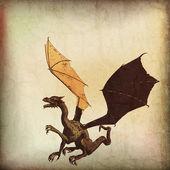 Dragon Parchment — Stock Photo