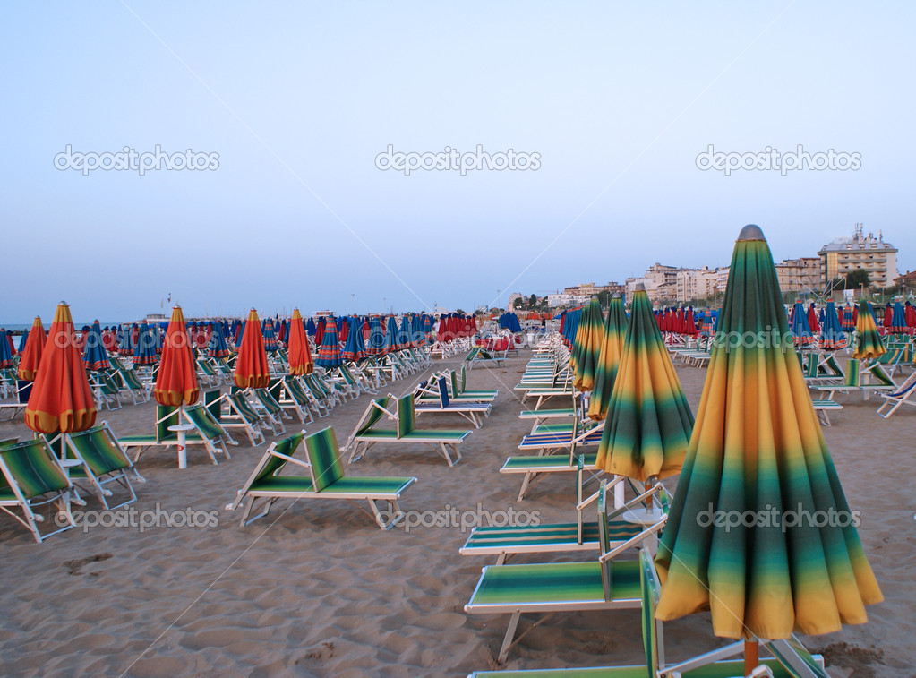 Cattolica Italy Pictures Evening Cattolica Italy