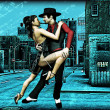 Urban Tango — Stock Photo