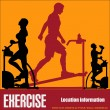Stock Vector: Exercise Flyer