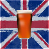 The Great British Pint — Stock Vector