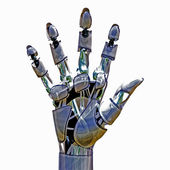 Android Hand — Stock Photo