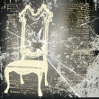 Shattered Chair Background — Stock Vector #10634390