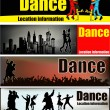 Royalty-Free Stock Vector Image: Ballroom dance banners