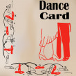 Royalty-Free Stock Vector Image: Dance Card
